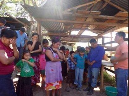 Dédicace des maisons et de l'Eglise de famille originaire du Chiapas