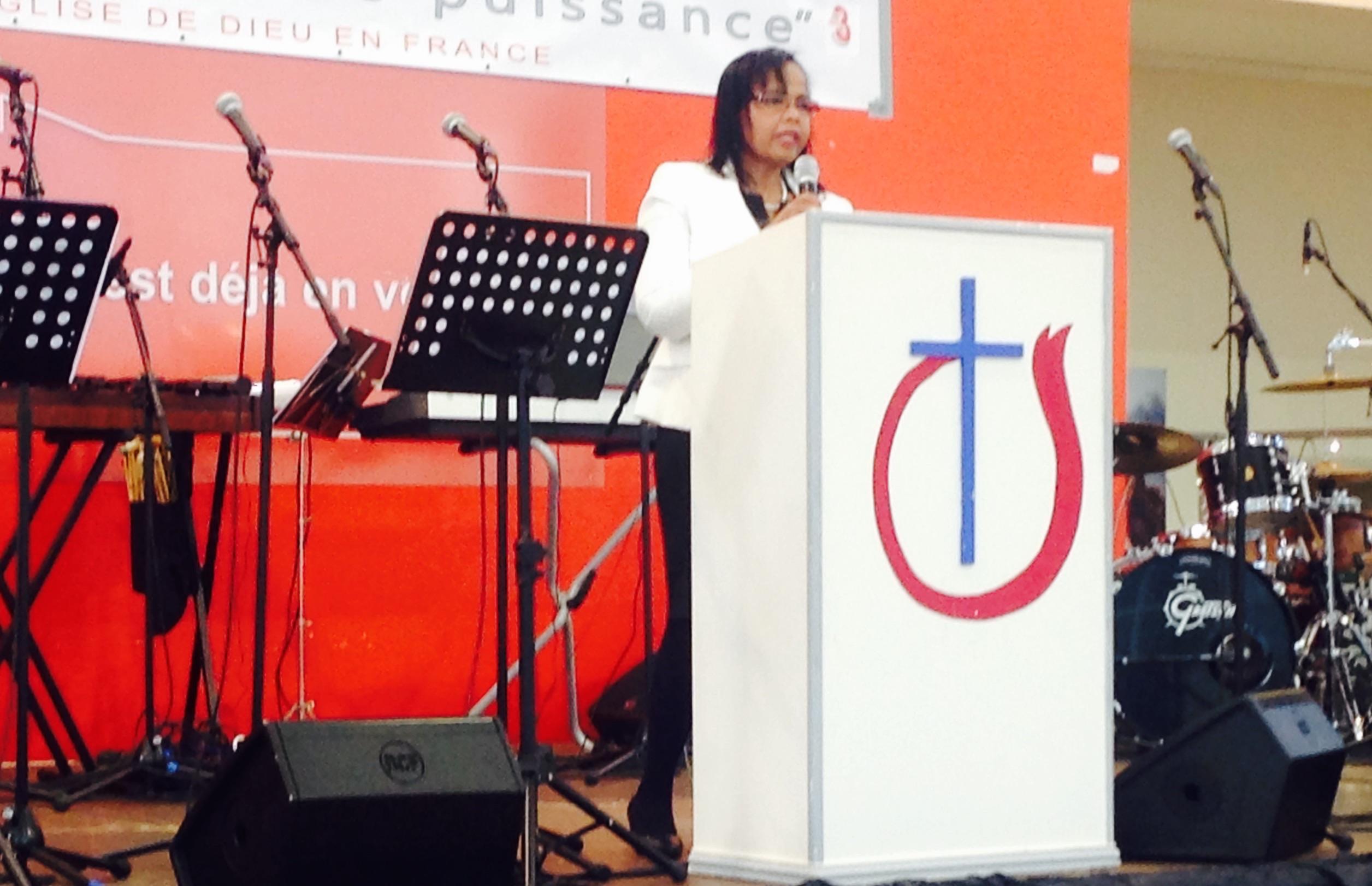 Jacqueline Merlo © Pasteur Aloys Evina Eglise de Dieu en France