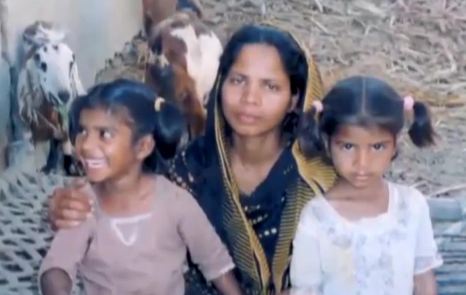 Asia Bibi, mère de famille chrétienne condamnée à mort par pendaison, attend la décision de la Cour Suprême du Pakistan