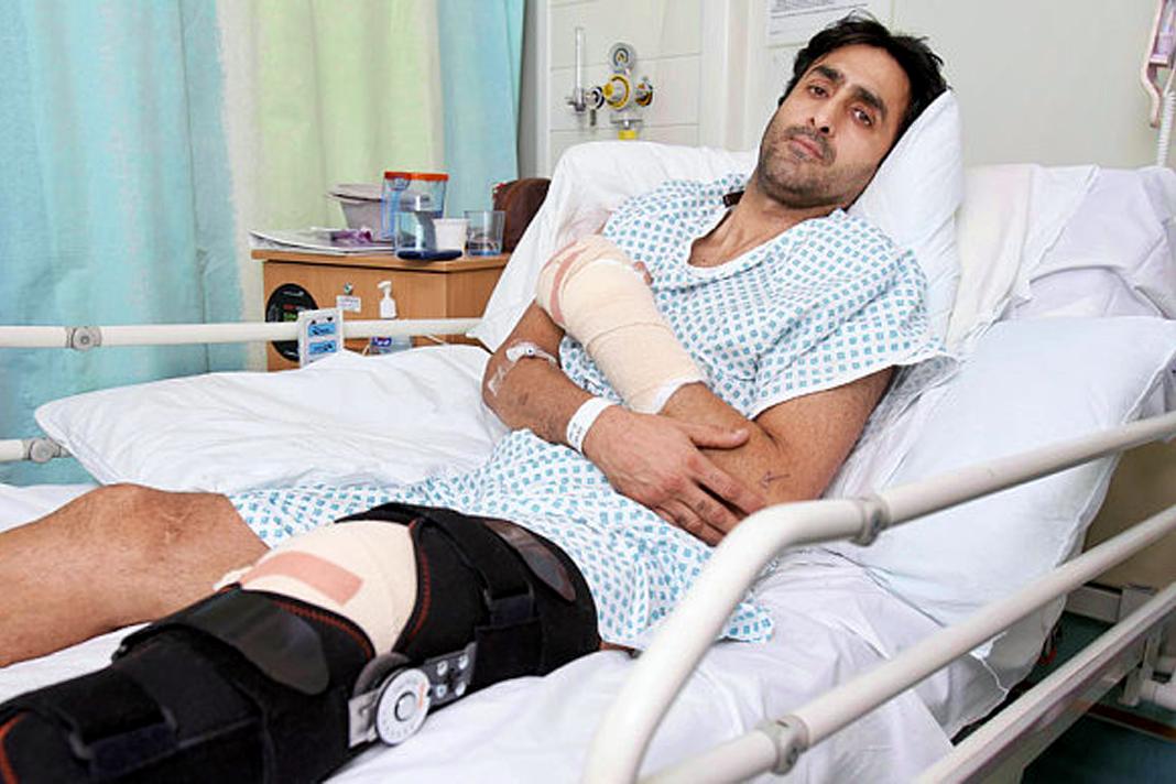 Nissar Hussain agressé pour sa foi dans la rue