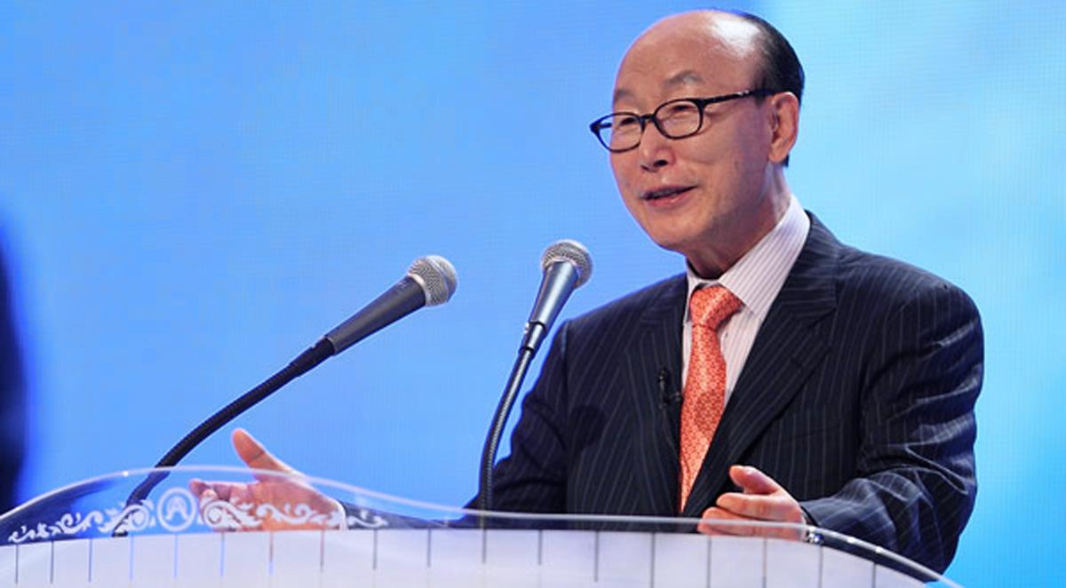 David Yonggi Cho, pasteur de l'Église évangélique de Yoido
