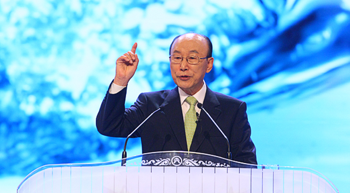 Le pasteur David Yonggi Cho a réussi à bâtir la plus grande église du monde