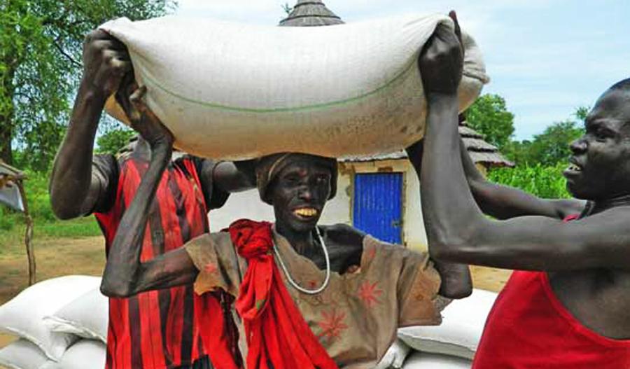 Famine au Soudan