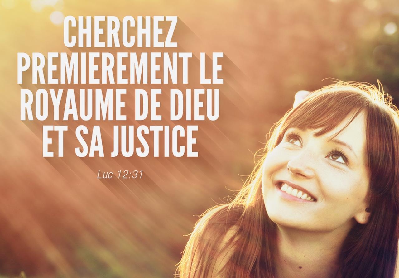Luc 12:31