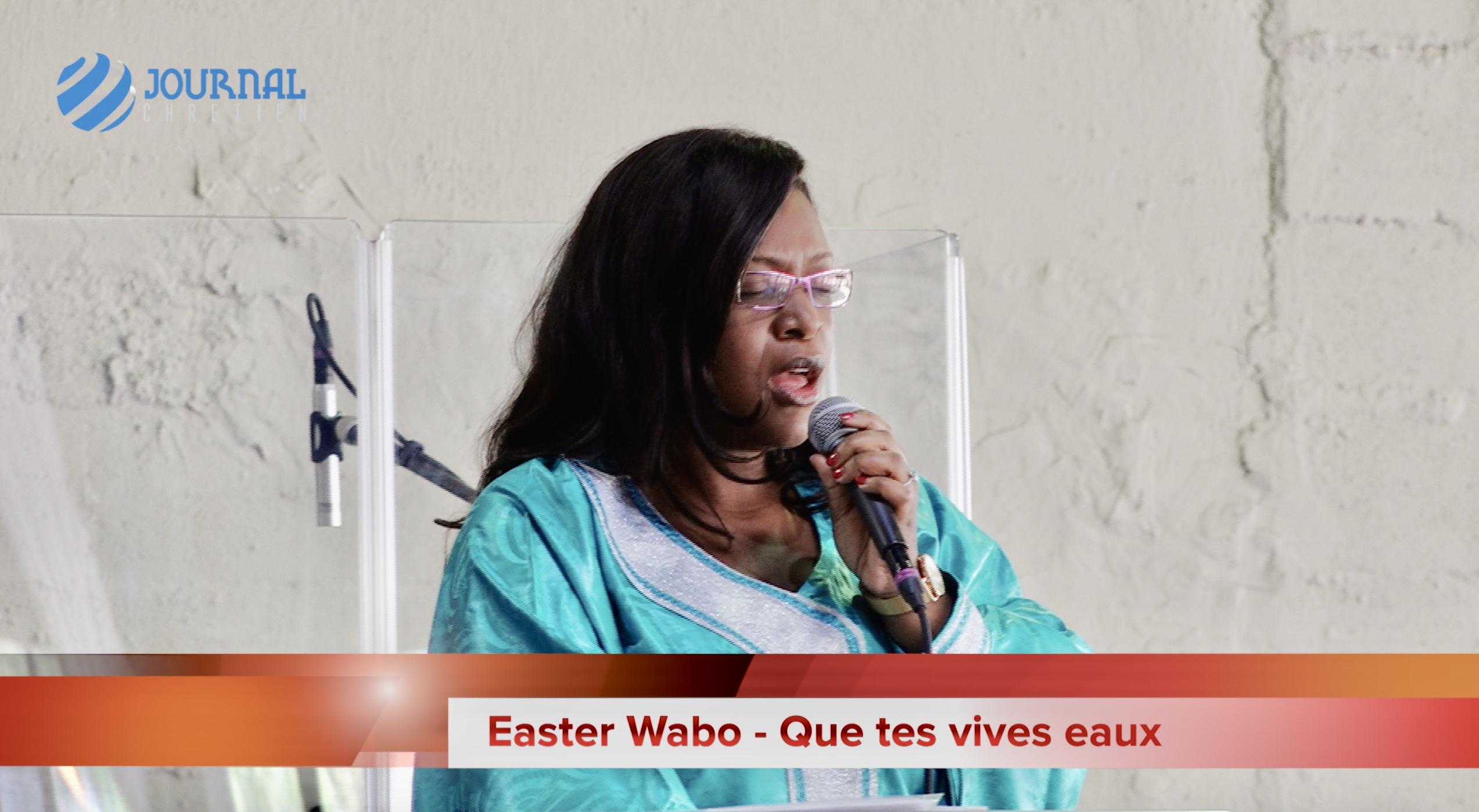Easter Wabo - Que tes vives eaux inondent mon âme