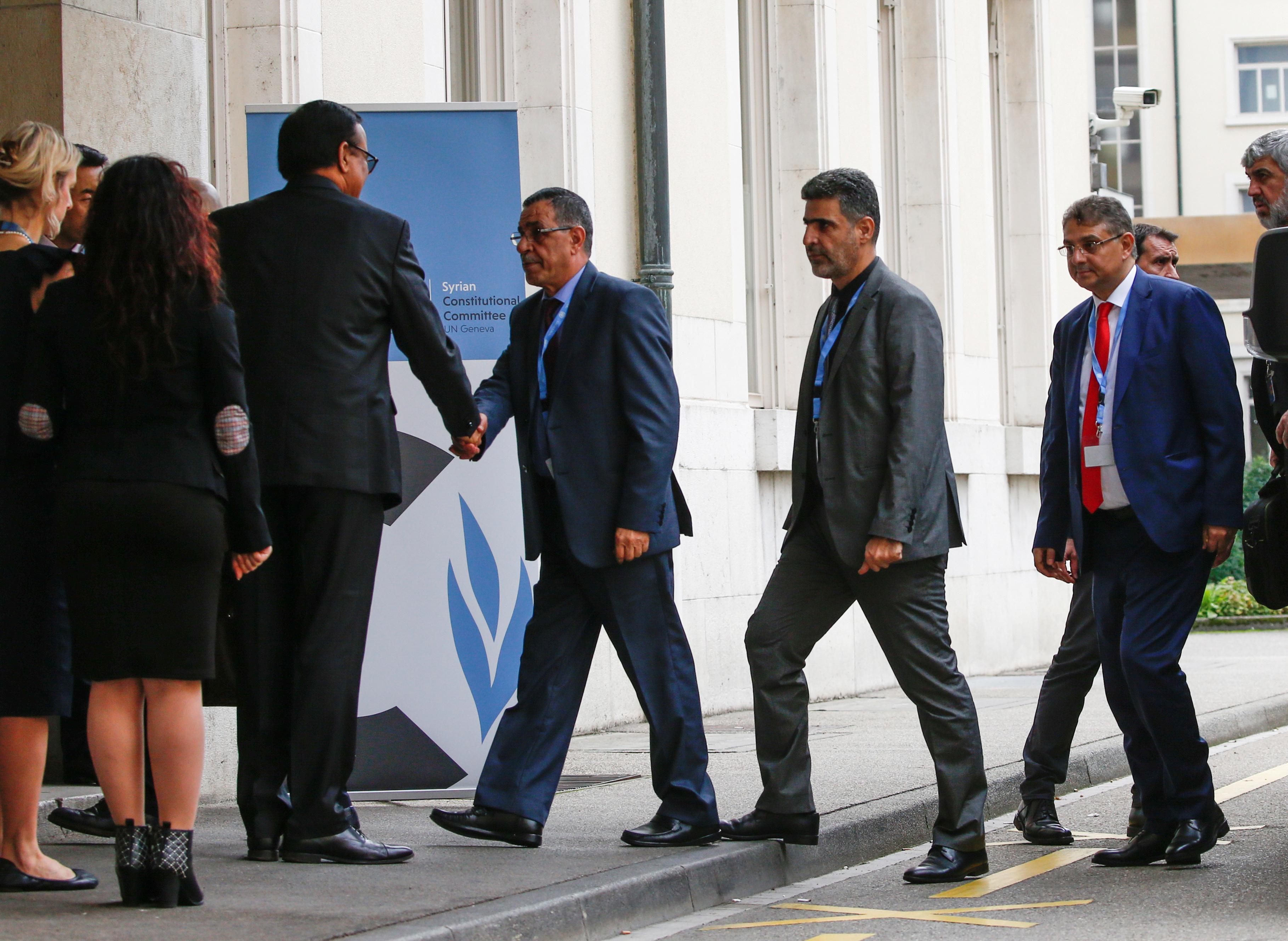 Première réunion du Comité constitutionnel syrien à Genève