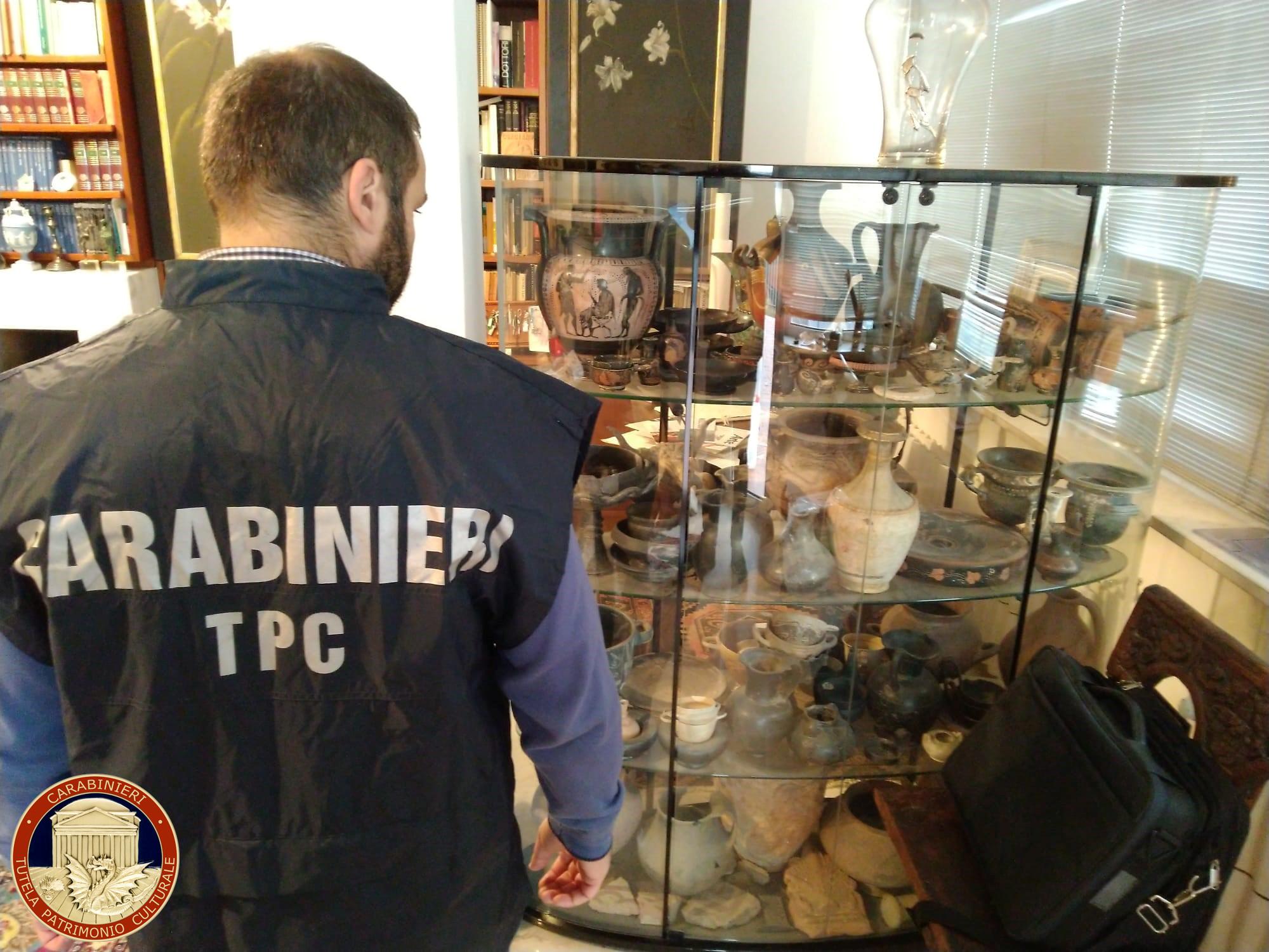 Coup de filet en Europe, 10.000 objets archéologiques retrouvés