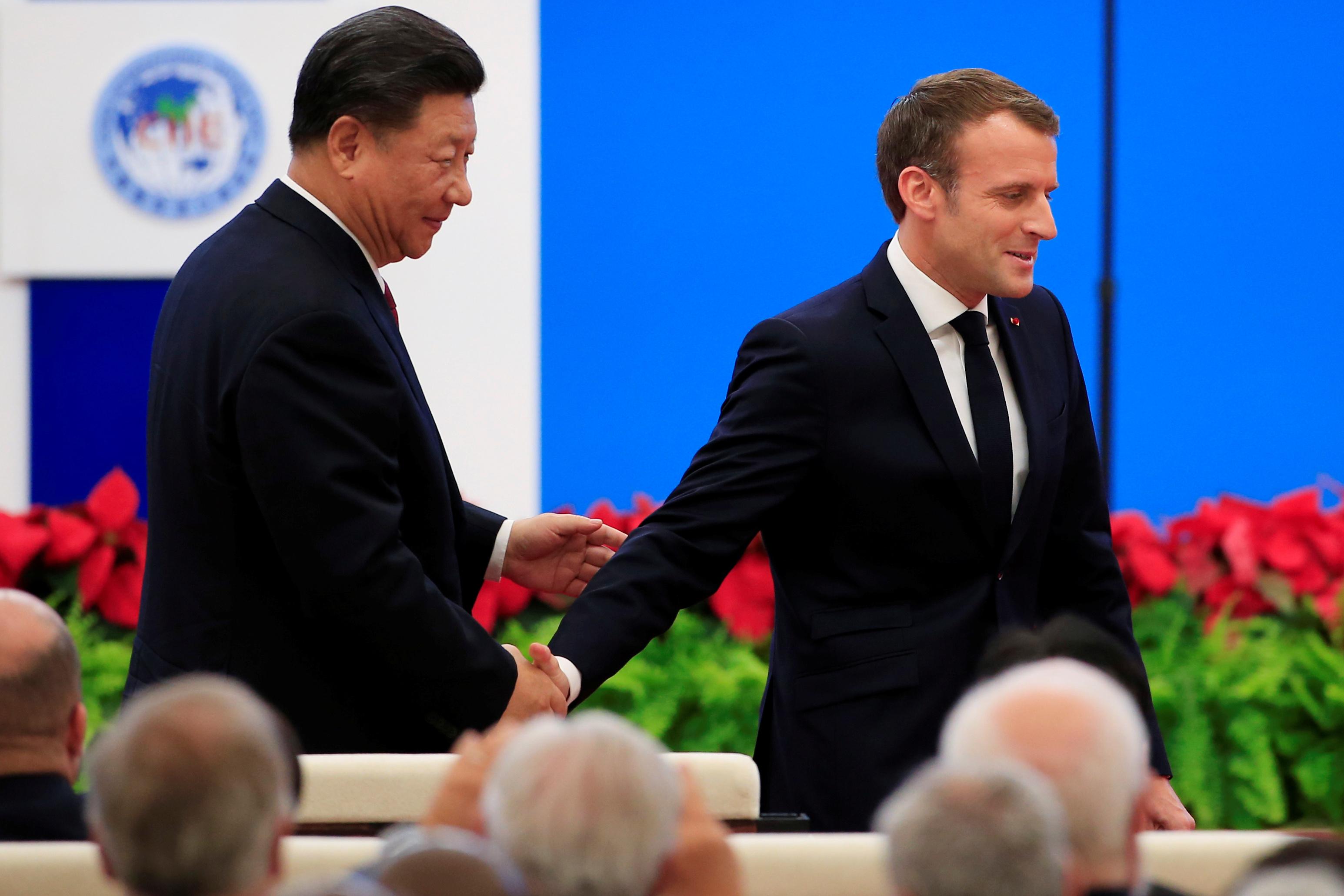 Emmanuel Macron appelle Xi Jinping à consolider l'ouverture du marché chinois