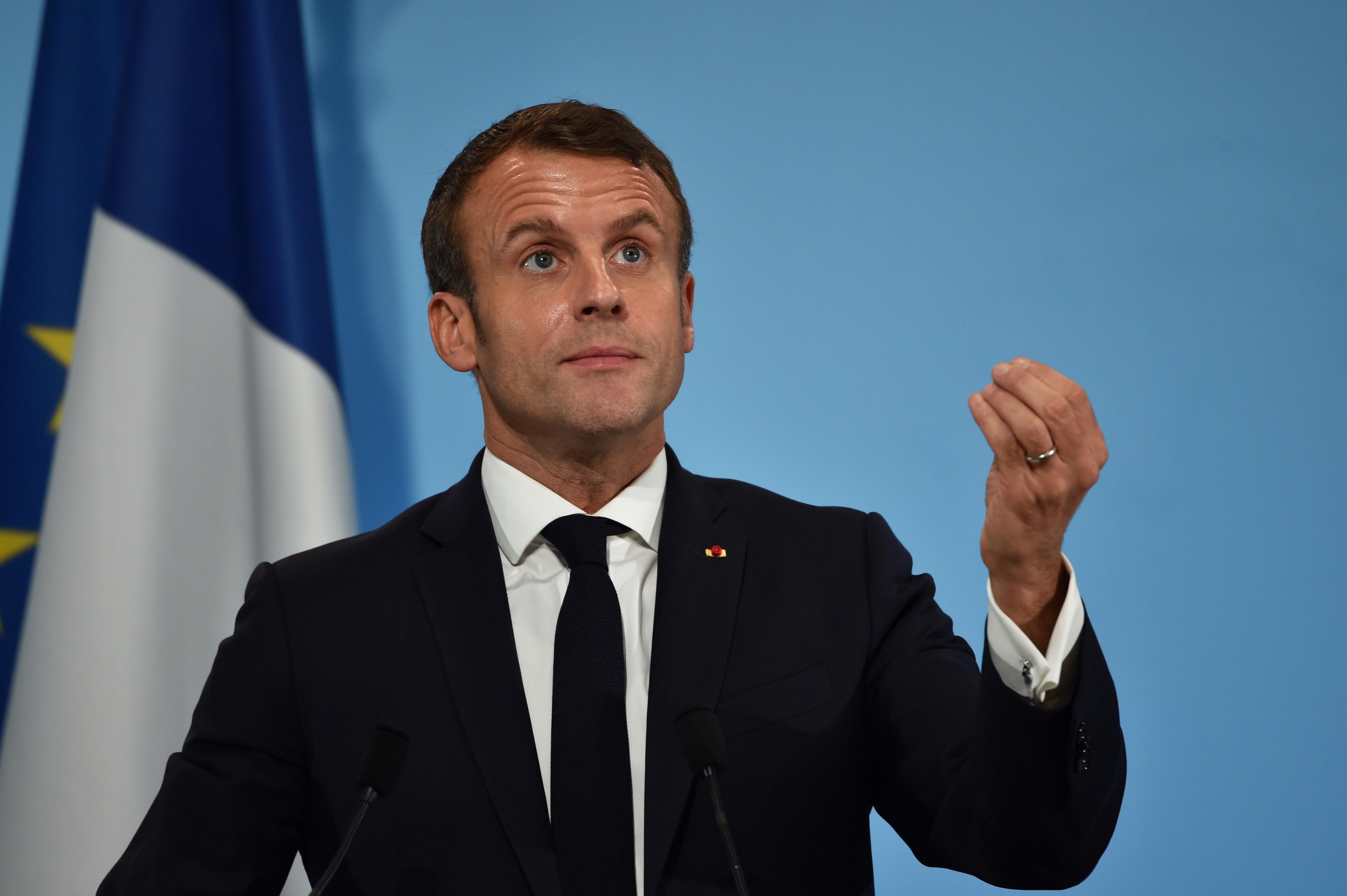 """Emmanuel Macron juge que l'Otan est en """"mort cérébrale"""""""