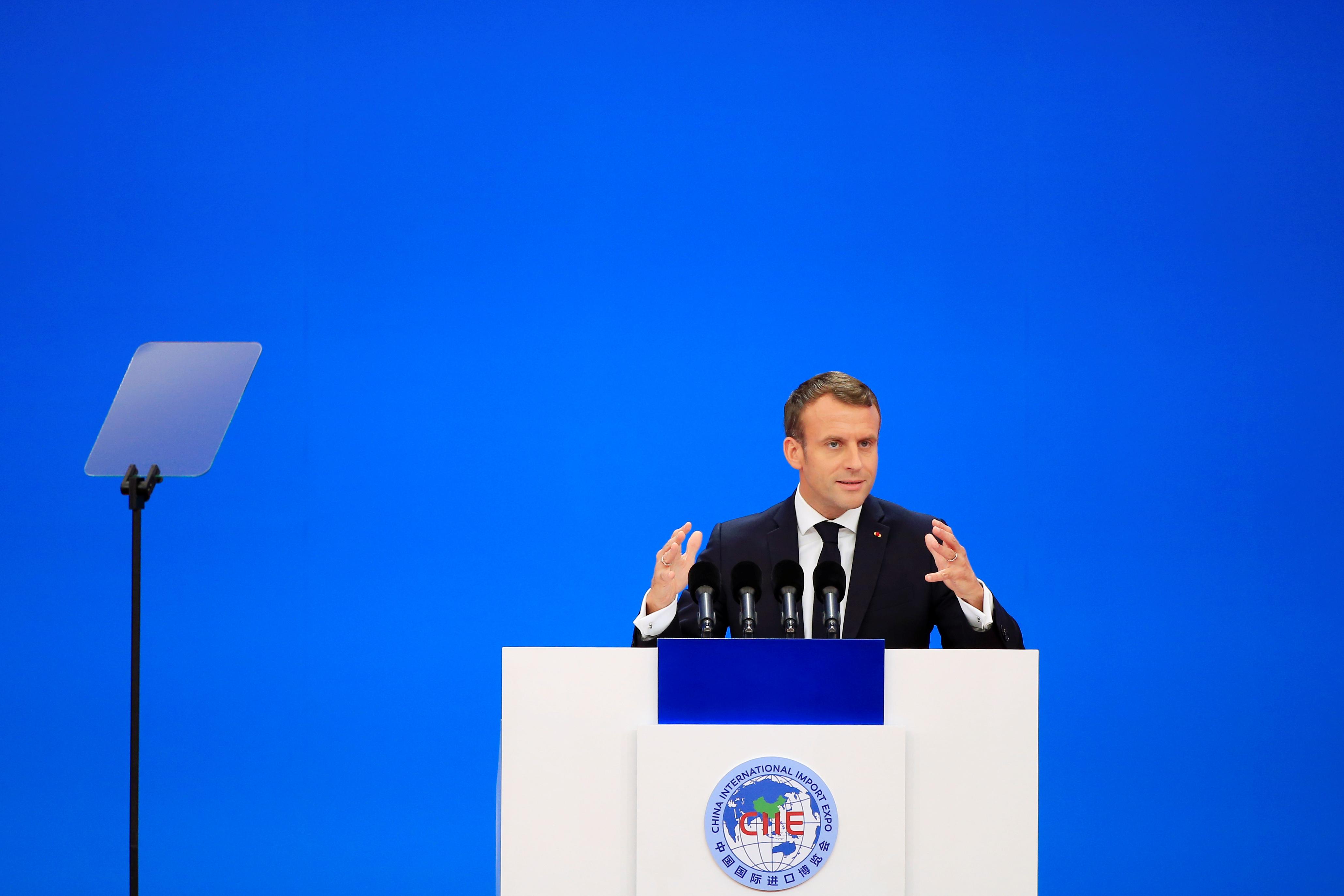 """L'Elysée """"regrette"""" la décision américaine sur l'accord de Paris"""