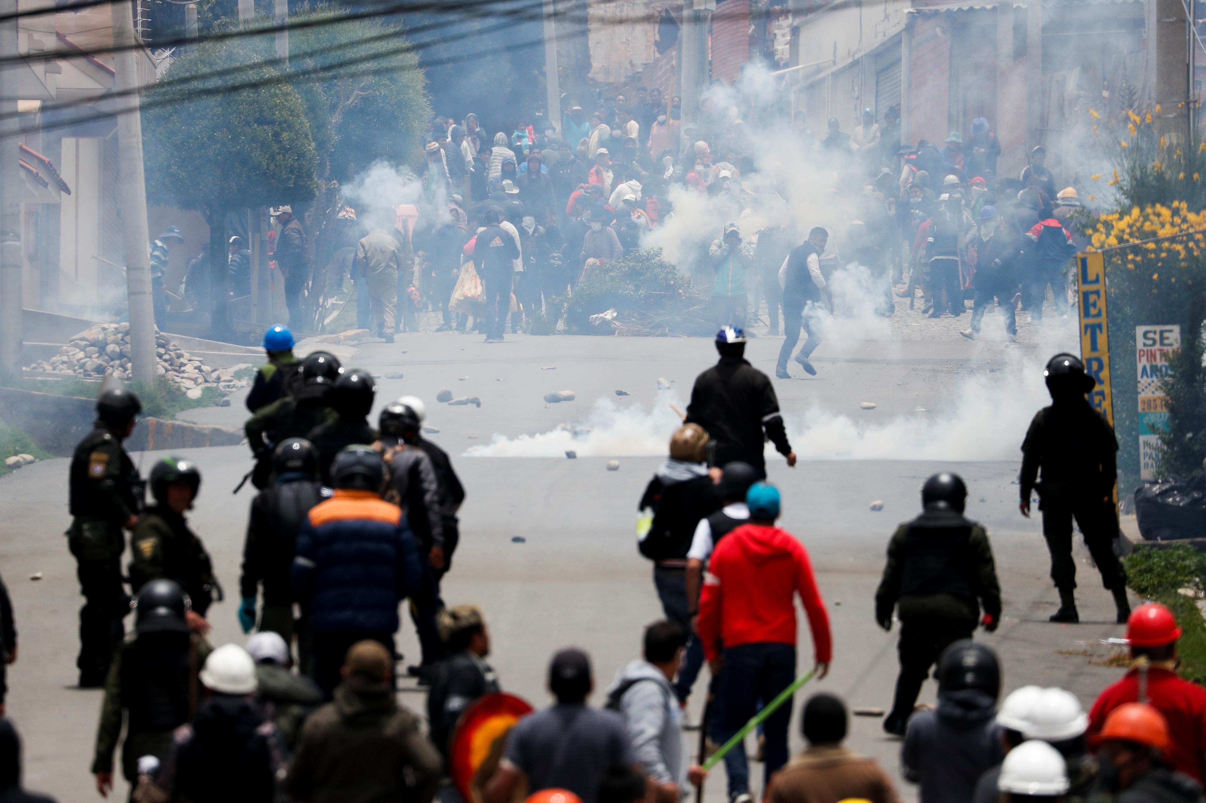 La Bolivie est dans le chaos, Evo Morales se réfugie au Mexique