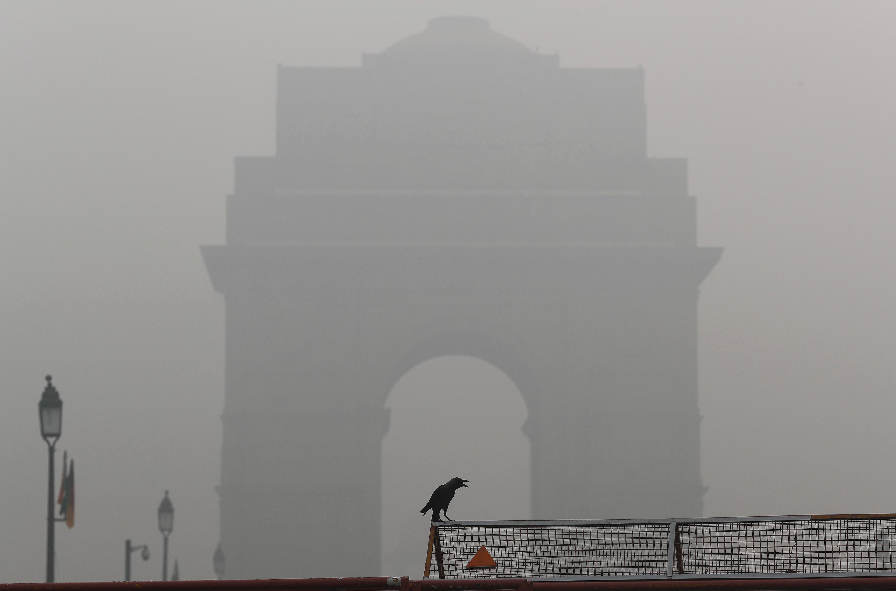 Le record de pollution atmosphérique à New Delhi