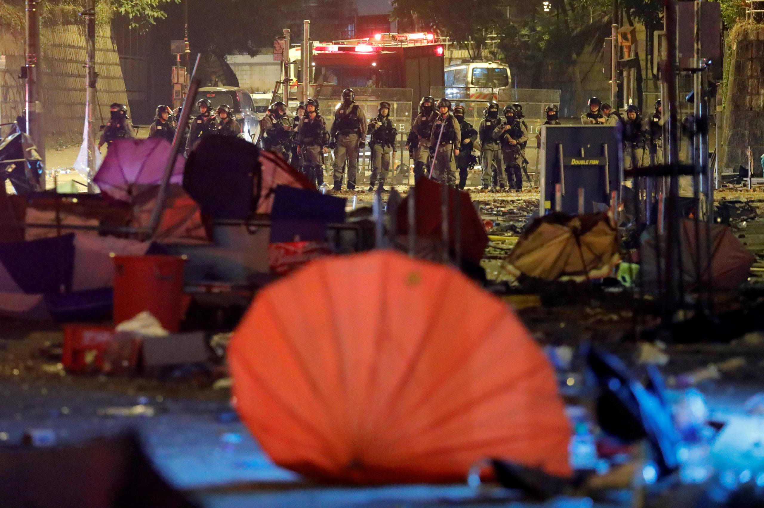 Le Sénat américain soutient les manifestants de Hong Kong