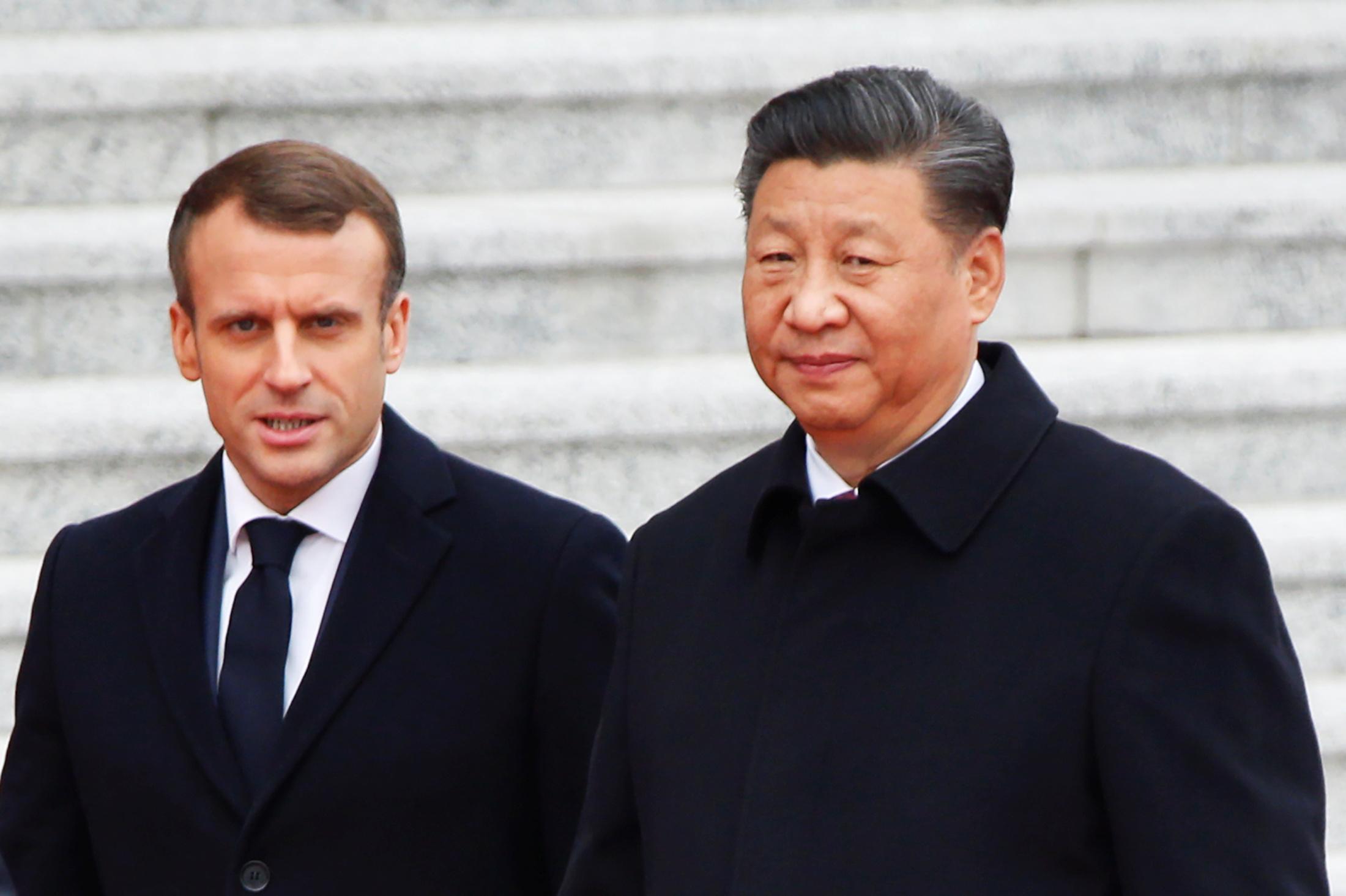 Soutien de la France et de la Chine à l'accord de Paris