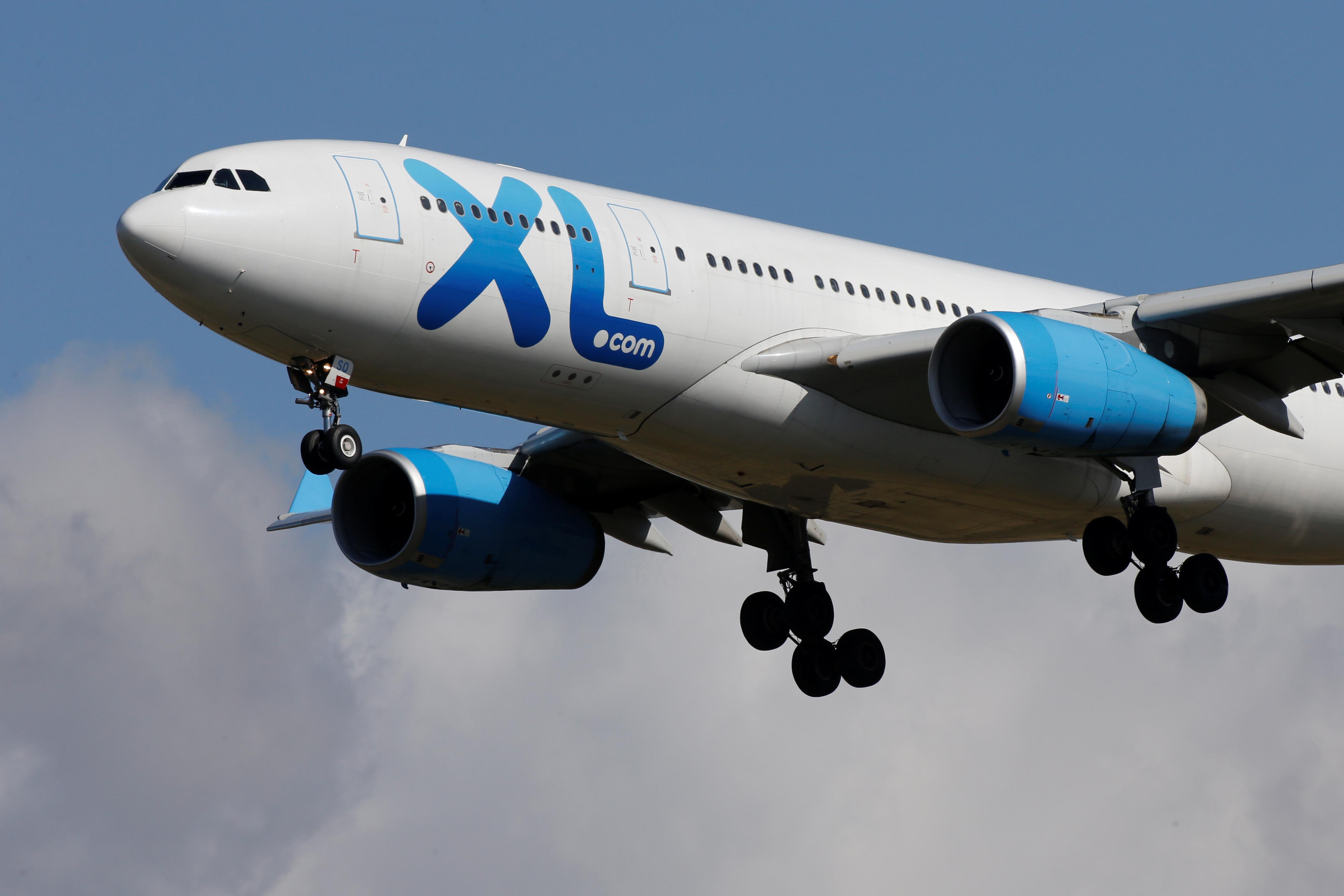 Le Tribunal de commerce de Bobigny a prononcé vendredi la liquidation judiciaire de la compagnie aérienne française XL Airways. /Photo prise le 23 septembre 2019/REUTERS/Pascal Rossignol