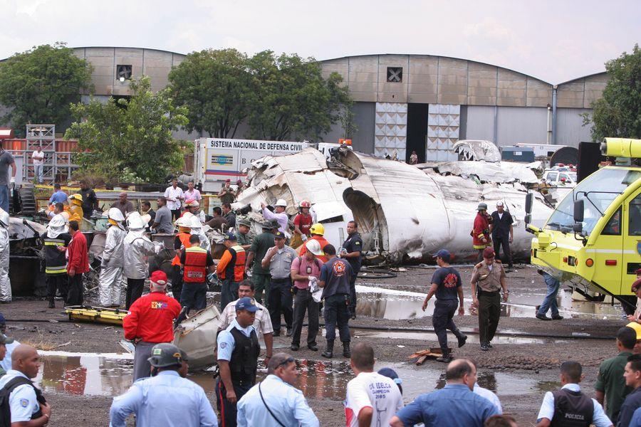 Accident d'avion au Venezuela