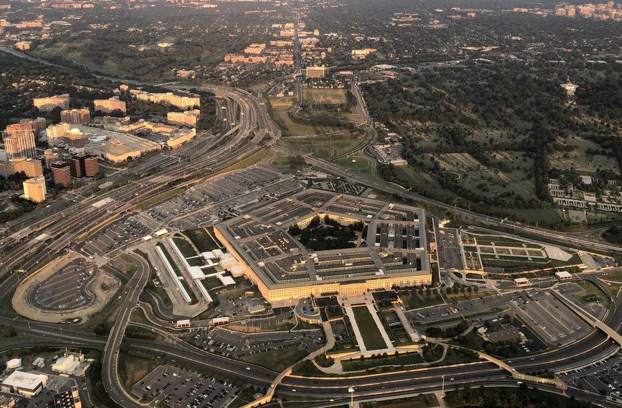 Vue aérienne du Pentagone à Washington D.C., aux Etats-Unis, le 11 juillet 2018. (Photo : Liu Jie)