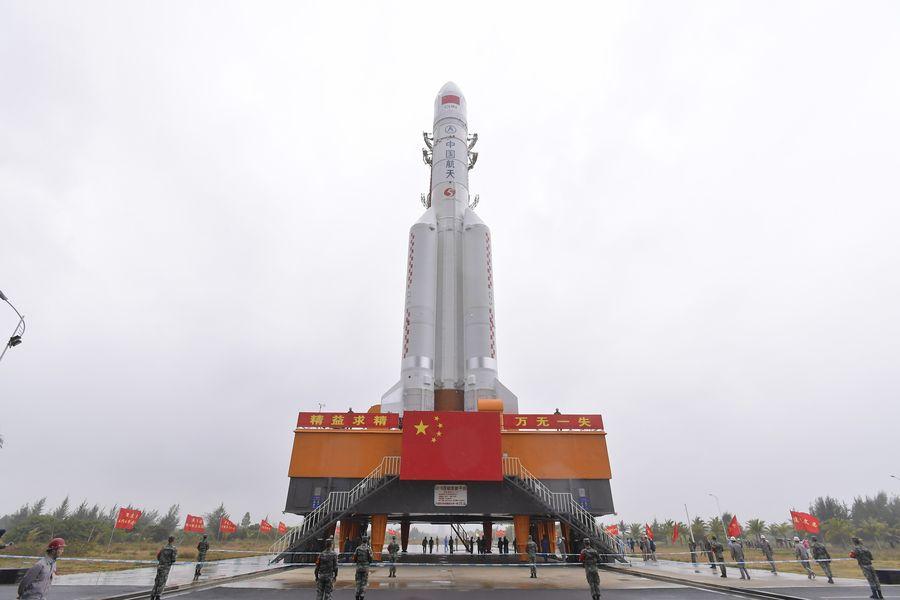 Le Centre de lancement spatial de Wenchang, dans la province chinoise de Hainan (sud), le 21 décembre 2019. (Xinhua/Zhang Gaoxiang)