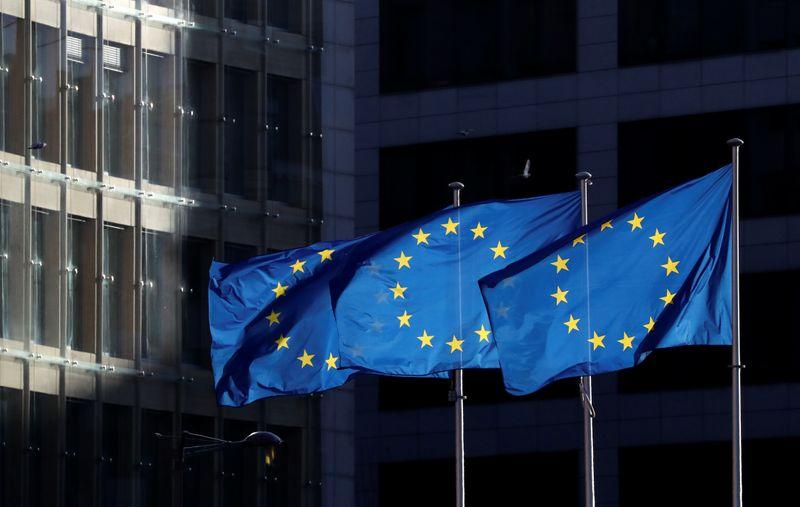 """Les eurodéputés sont convenus lundi d'approuver un projet visant à fixer un ensemble de règles pour définir les produits financiers """"verts"""" et """"durables"""", un marché évalué à 180 milliards d'euros, cinq jours après que les Etats membres de l'Union européenne ont rejeté un accord en ce sens. /Photo prise le 12 décembre 2019/REUTERS/Yves Herman"""
