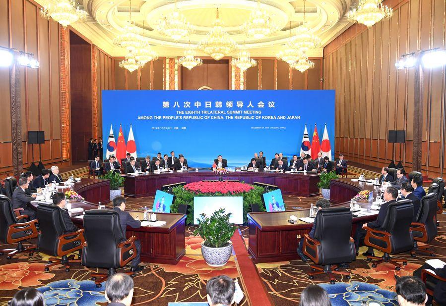 La Chine, la République de Corée et le Japon s'accordent à approfondir la coopération dans la prochaine décennie