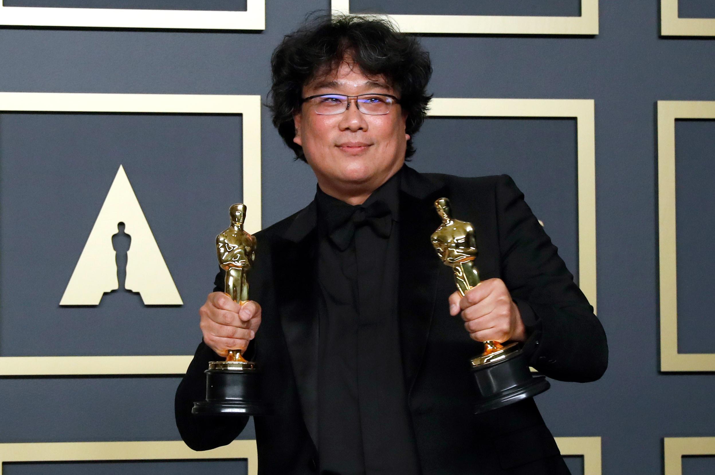 92e cérémonie des Oscars ,Parasite, Bong Joon-ho, Joaquin Phoenix,Renée Zellweger, Judy Garland, Sam Mendes, Quentin Tarantino , Brad Pitt, Laura Dern, Martin Scorsese