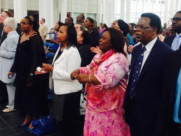 Martin Mutyebele Lukanda et Rosiane Ngoi