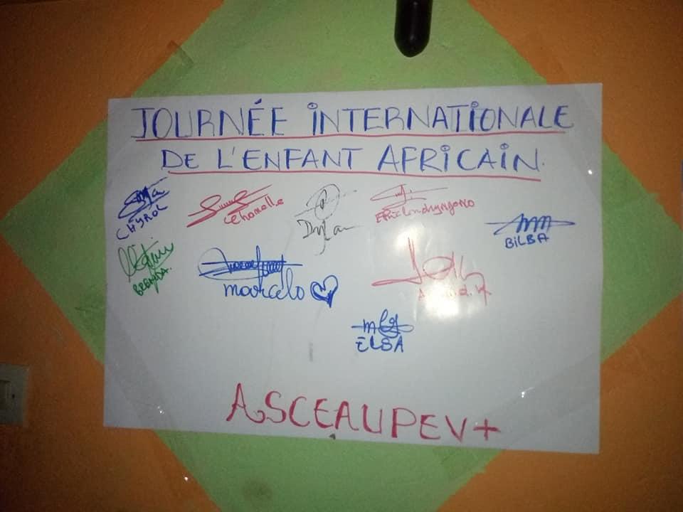 Cameroun des associations des droits humains réfléchissent autour de la journée de l'enfant africain à Yaoundé