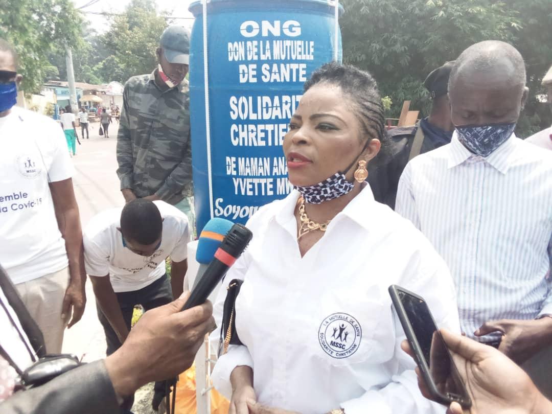 Covid-19 à Kinshasa : Une mutuelle de santé d'obédience chrétienne vole au secours des populations défavorisées dans la commune de Ngaliema