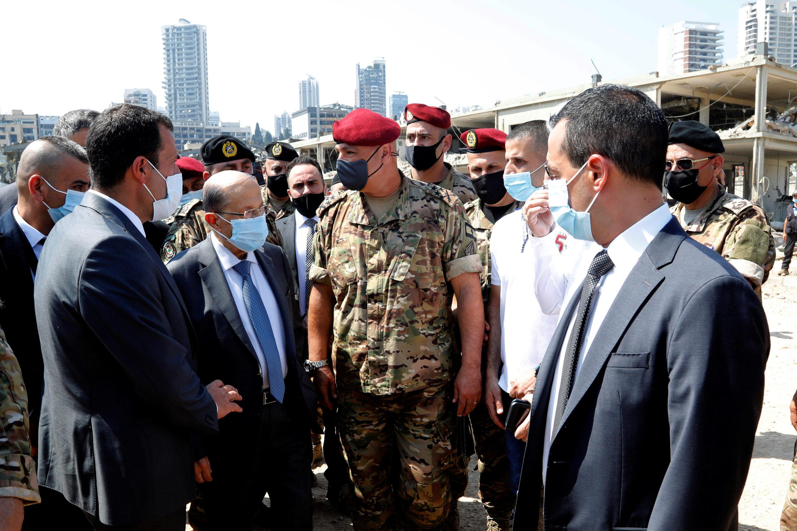 Beyrouth en état de choc, le bilan de l'explosion dépasse 100 morts