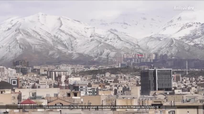 L'Iran signale 1.754 nouveaux cas de Covid-19