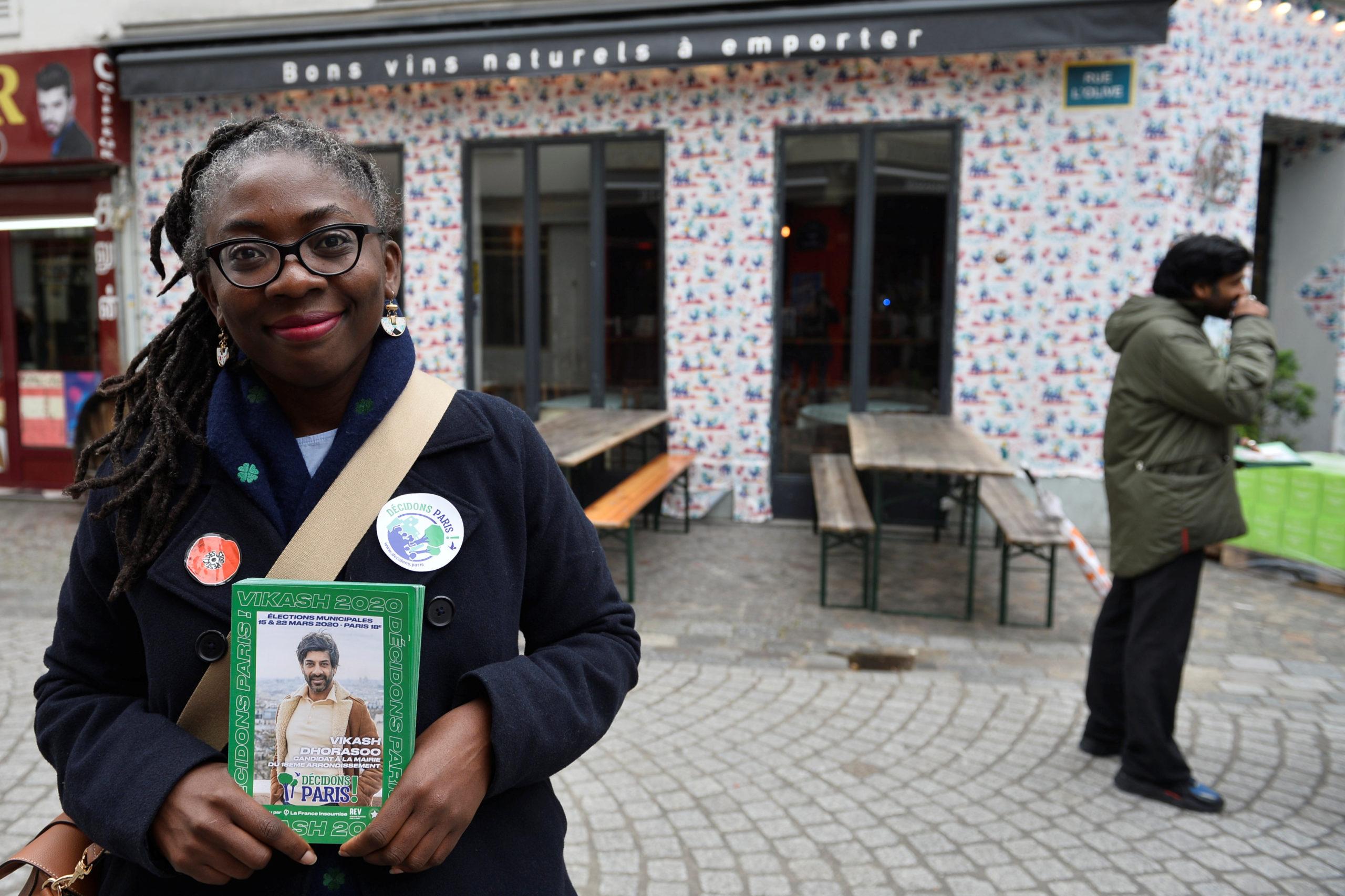 La députée Danièle Obono représentée en esclave dans Valeurs Actuelles