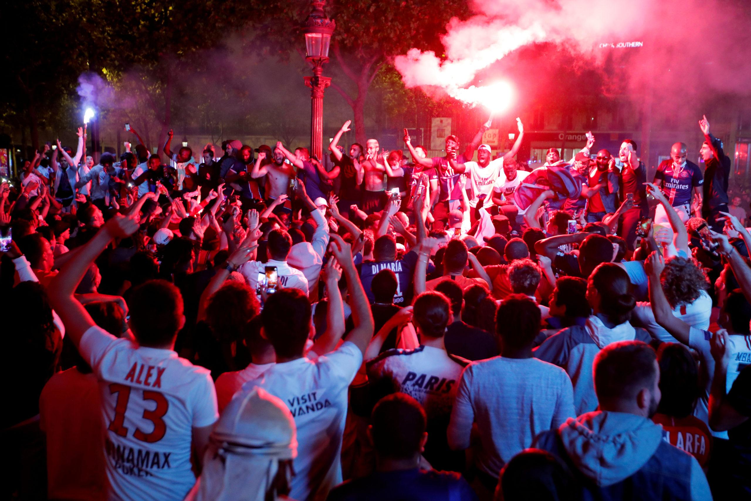Le Paris Saint-Germain (PSG) qualifié pour la finale de la Ligue des champions de football