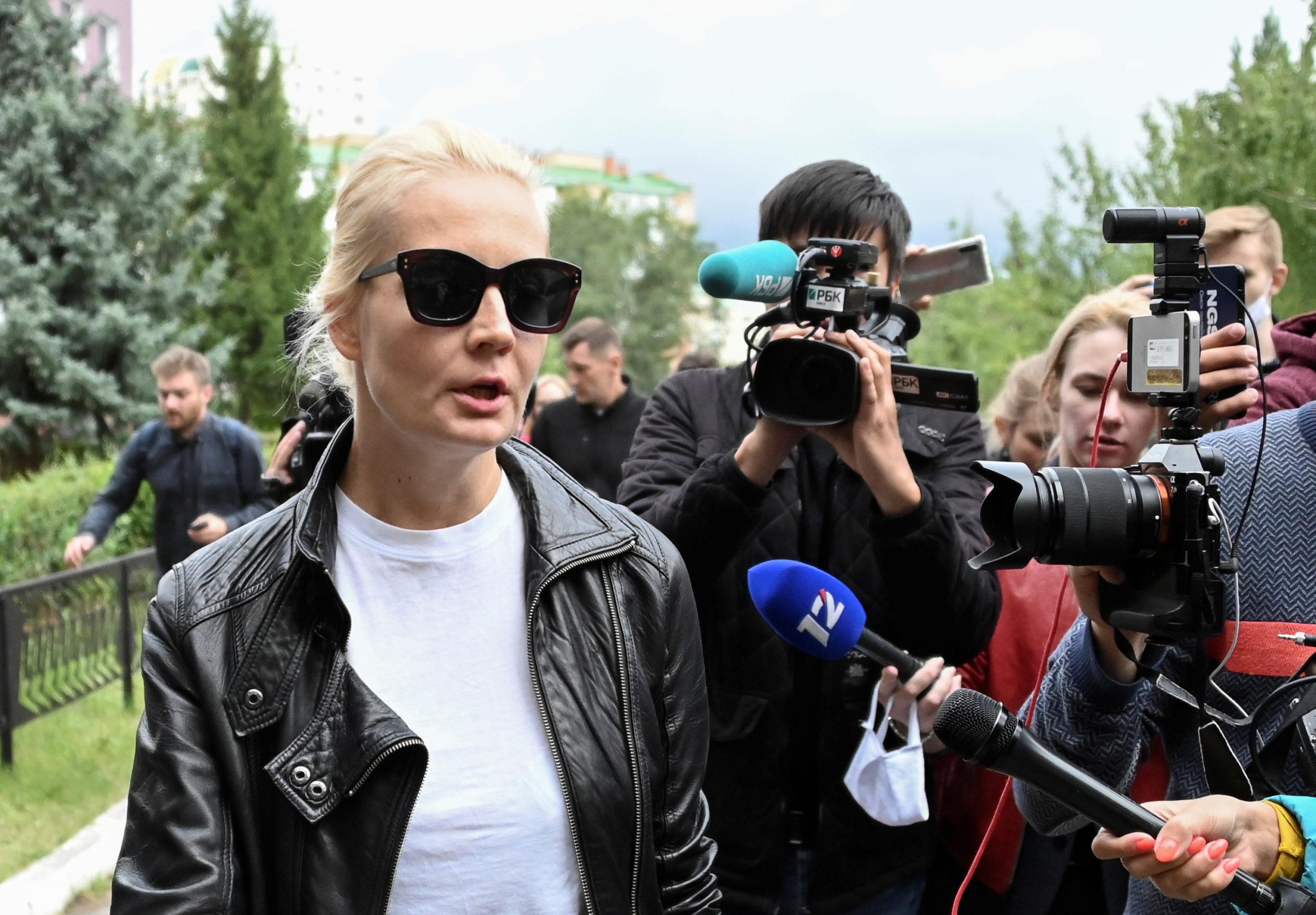Yulia Navalnaya demande à Vladimir Poutine d'autoriser le transfert d'Alexeï Navalny en Allemagne