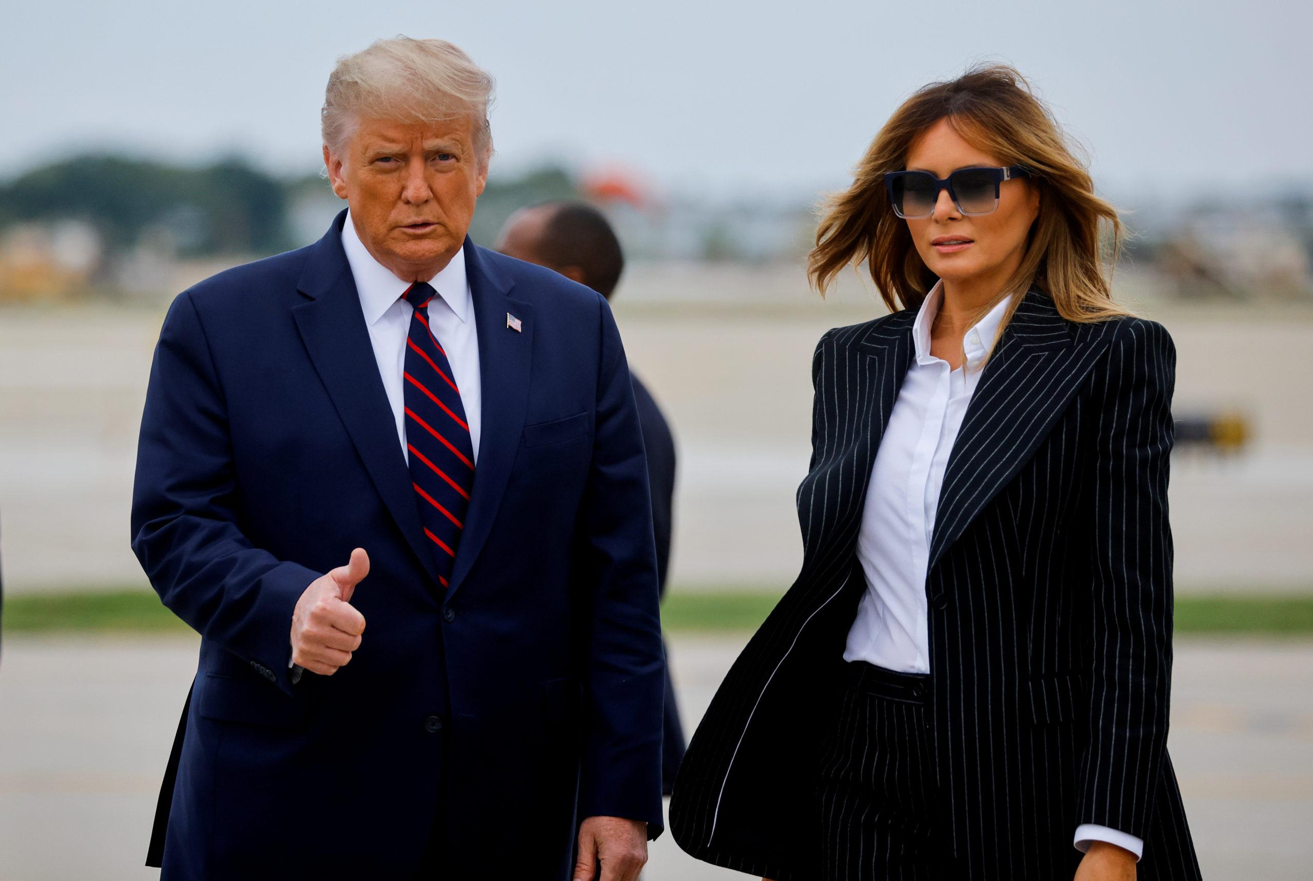 Donald Trump testé positif au Covid-19