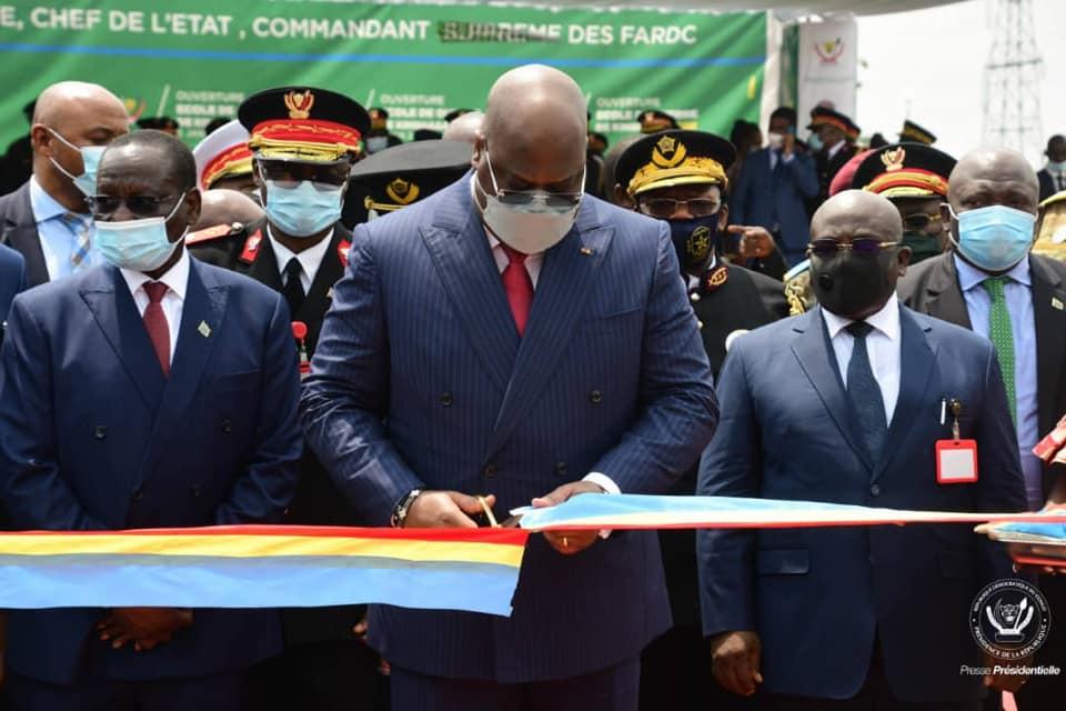 RDC : le Président Félix Tshisekedi ouvre une école de guerre à Kinshasa en partenariat avec la France