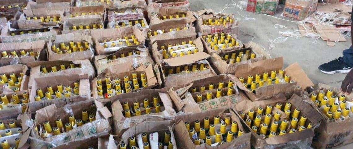Cameroun : une fabrique des bières frelatées démantelée au quartier Nkololun à Douala