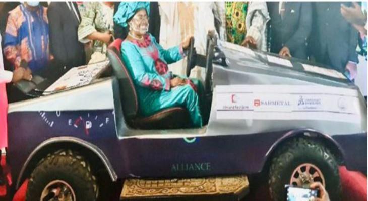 Cameroun : le premier véhicule conçu et fabriqué dans le pays, présenté à la Journée de l'innovation technologique