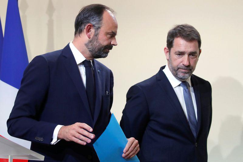 Edouard Philippe et Christophe Castaner
