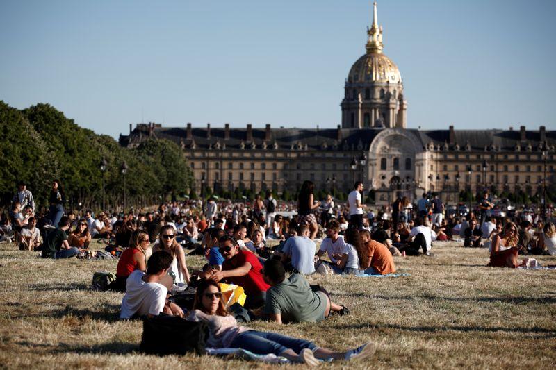 CORONAVIRUS: LES PARCS ET JARDINS ONT ROUVERT À PARIS
