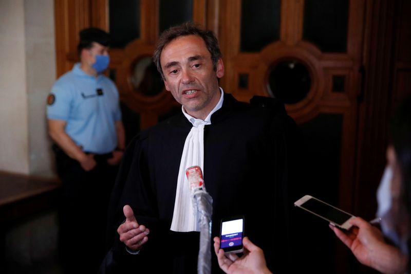 Laurent Bayon, l'un des avocats de Félicien Kabuga