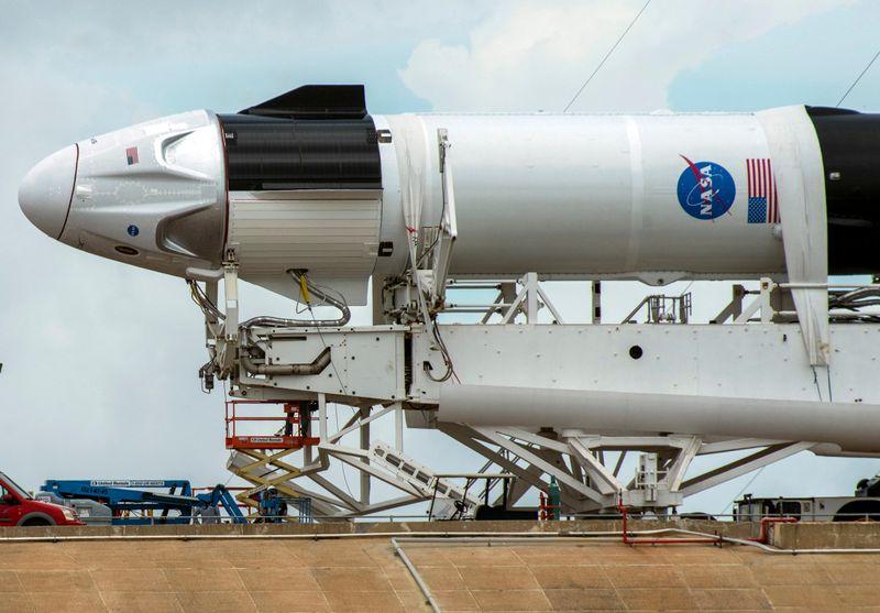 LA NASA LANCE SON PREMIER VOL HABITÉ AVEC SPACEX DEPUIS 2011
