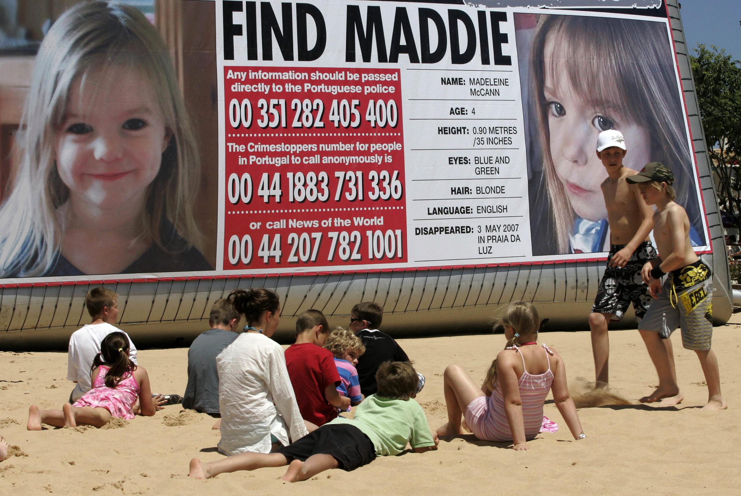 Affaire Maddie: Le procureur allemand s'intéresse à un viol commis dans la même région du Portugal