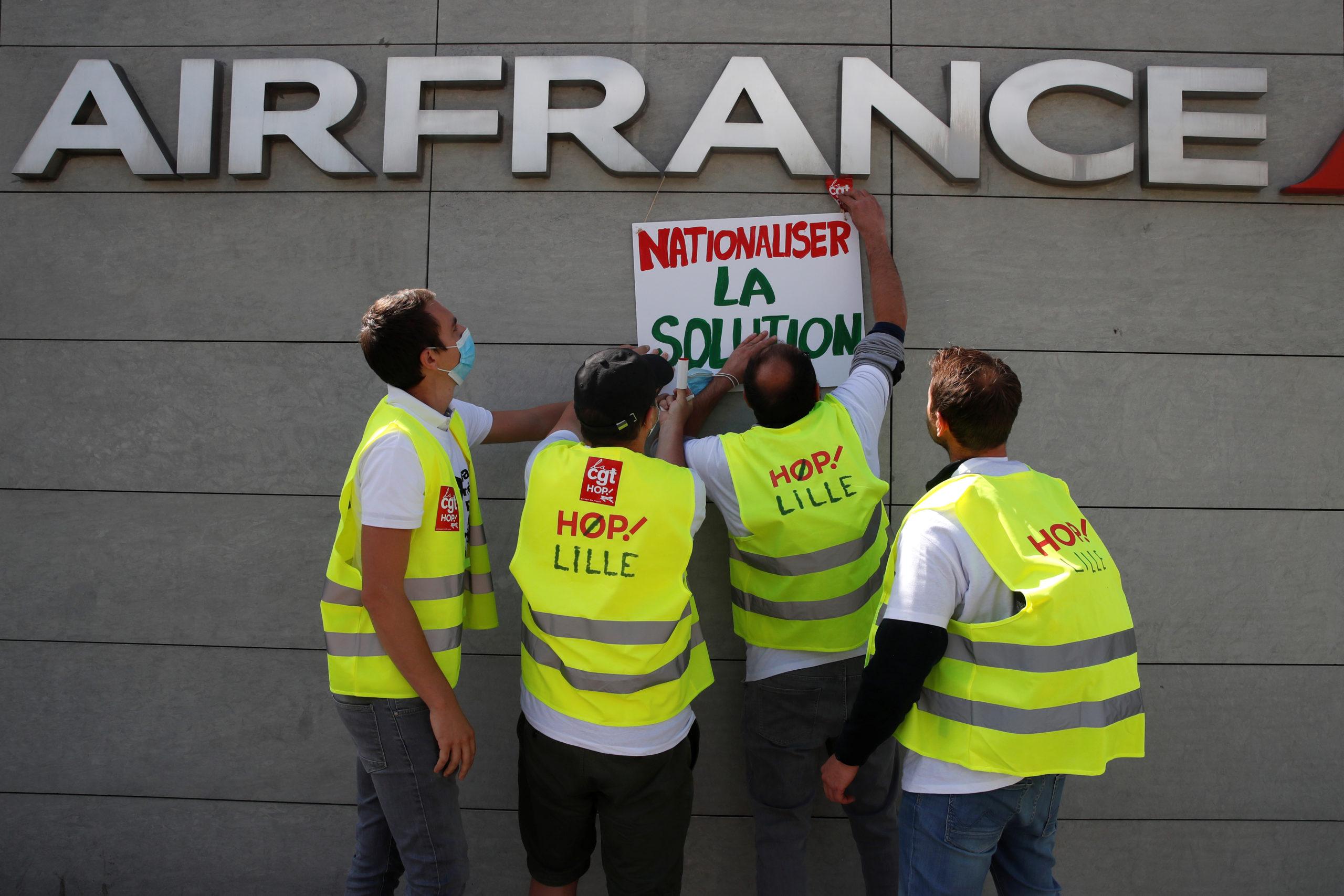 Air France va supprimer 1.022 postes chez Hop!