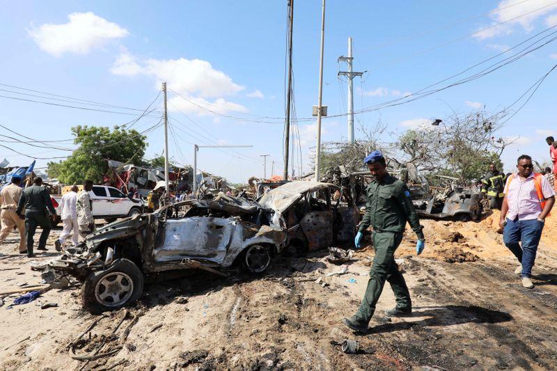 Al Chabaab revendique l'attentat qui a fait 90 morts à Mogadiscio