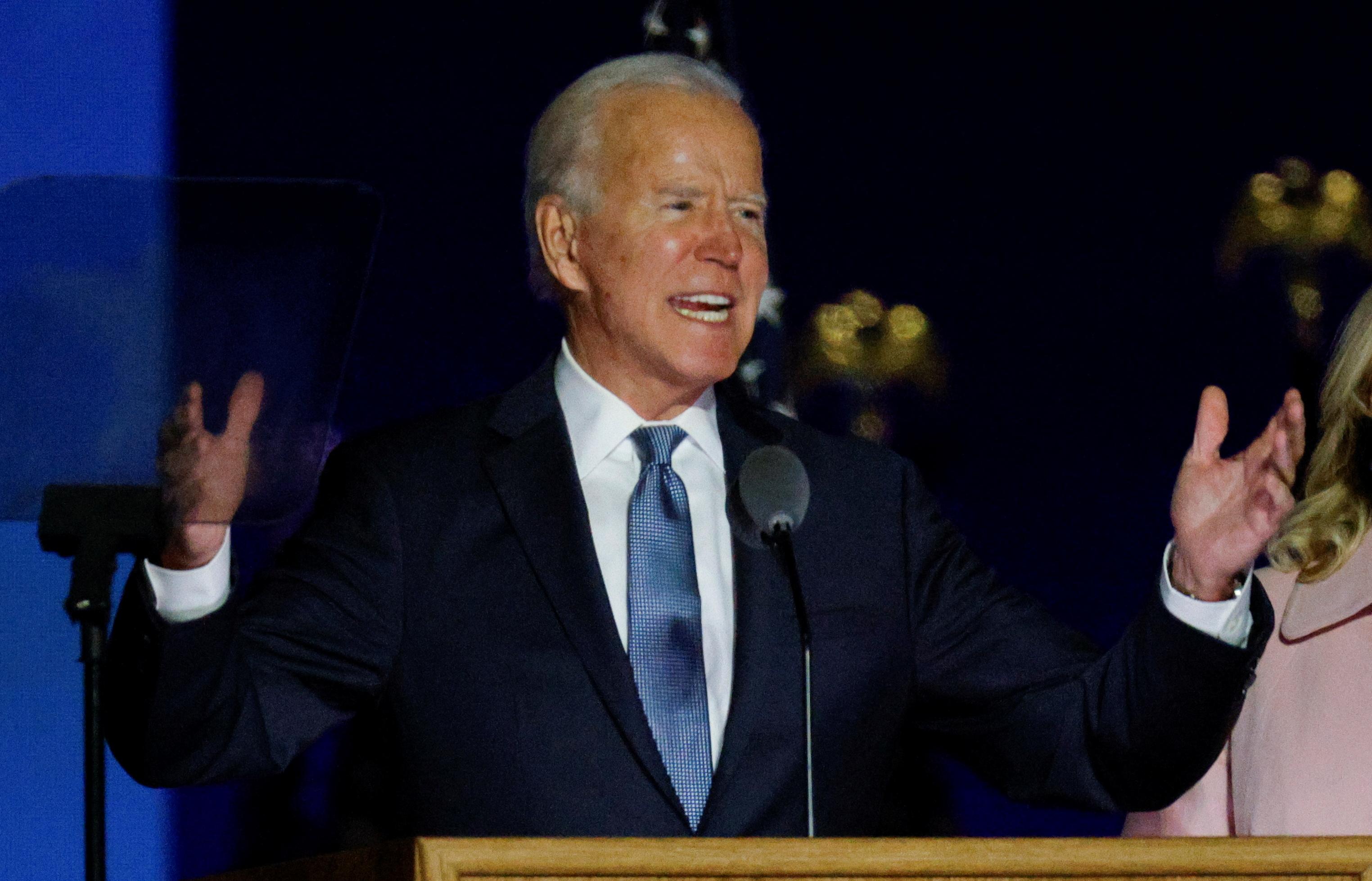Biden crédité de 224 grands électeurs contre 213 pour Trump - Edison Research