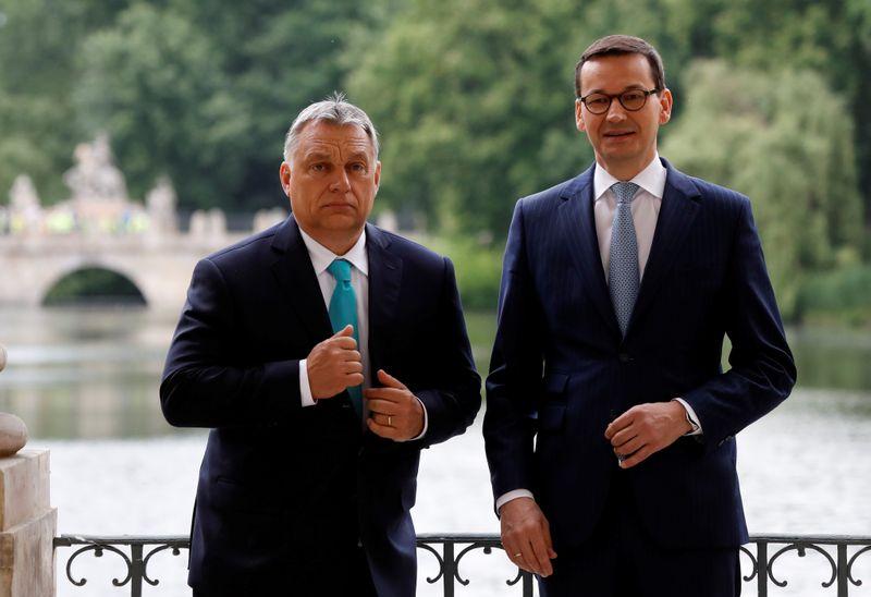 Budget de l'UE: Réunion jeudi entre Hongrie et Pologne