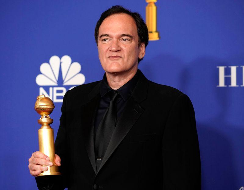 """Cinéma: """"1917"""" et Tarantino primés aux Golden Globes, Netflix boudé"""