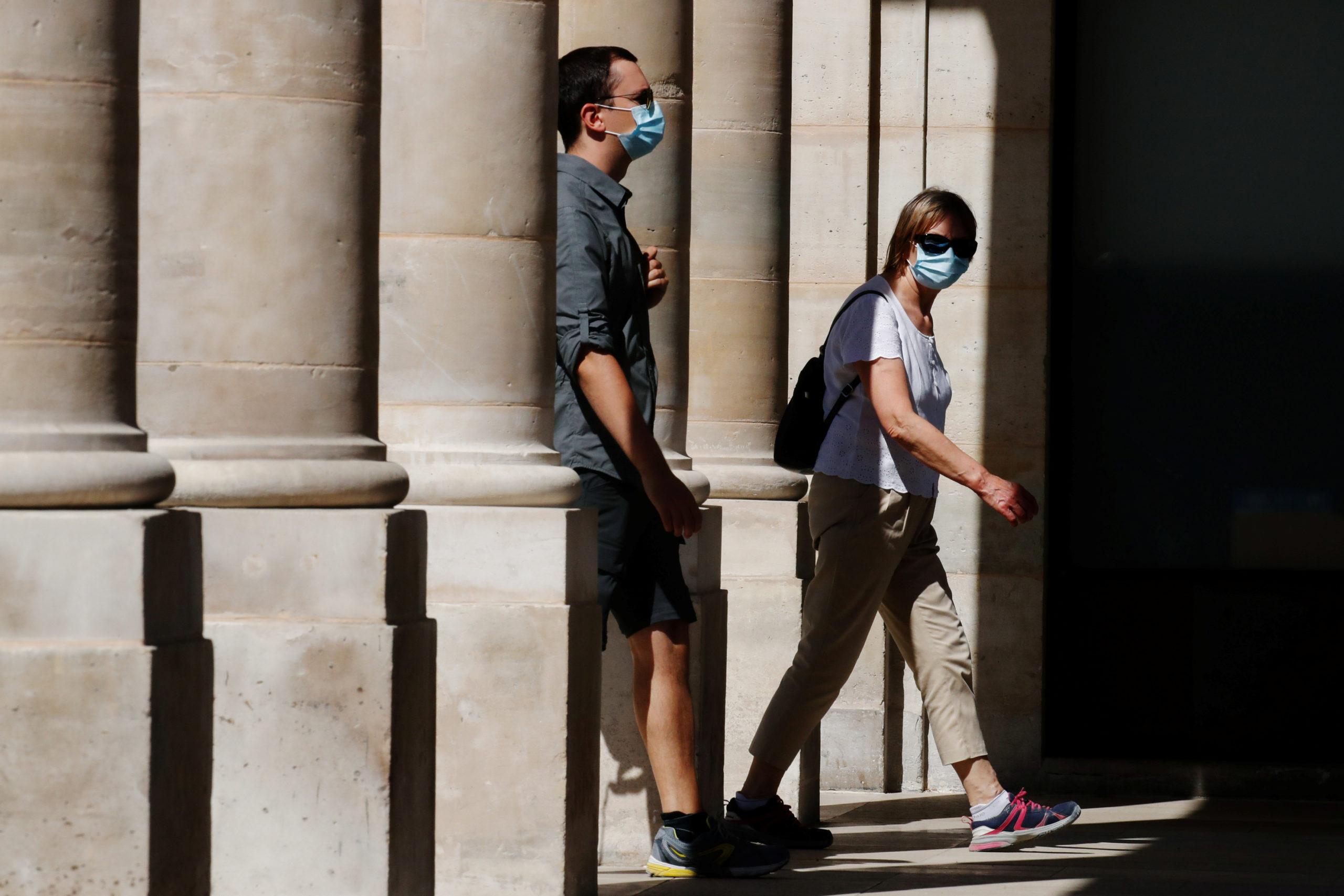 Coronavirus: 1.604 nouvelles contaminations relevées en 24 heures en France