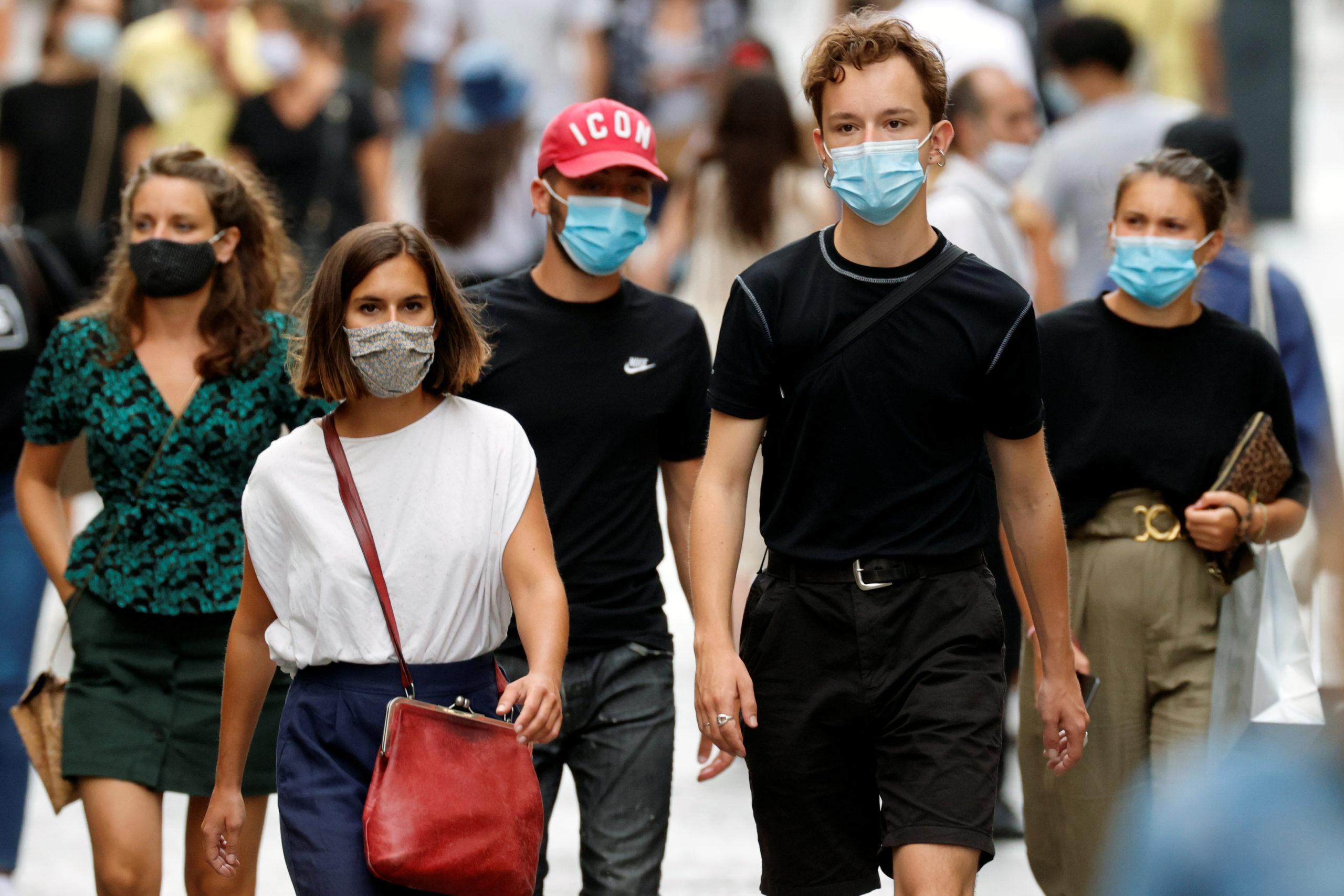 Coronavirus: 3.602 cas enregistrés en 24h, rapporte Santé Publique France