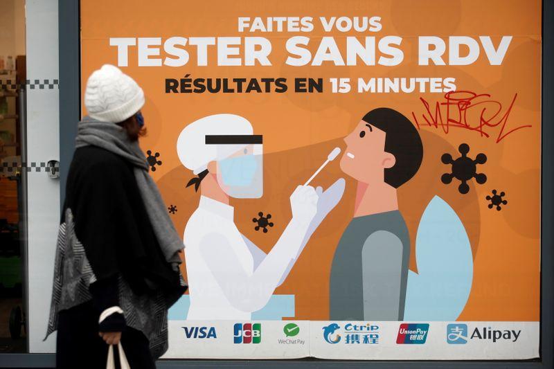 Coronavirus: La France enregistre 16.642 nouveaux cas